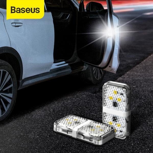 Bảng giá Baseus Set 2 Đèn Cảnh Báo 6 Bóng LED An Toàn Chống Va Chạm Khi Mở Cửa Xe
