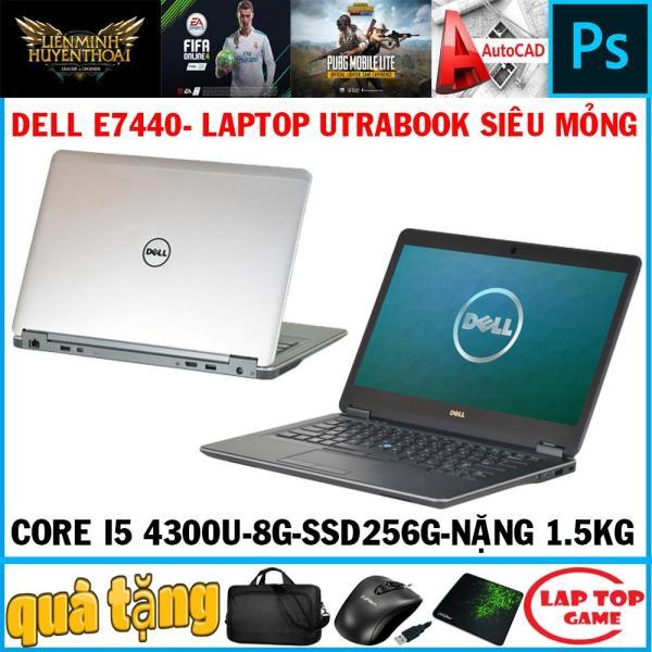 Bảng giá Dell Latitude E7440 siêu mỏng- Core i5-4300U,8G, SSD 256G, màn 14″ HD, dòng laptop mỏng nhẹ 1,5kg Phong Vũ