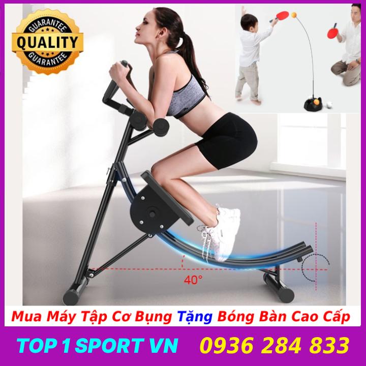Ghế máy tập cơ bụng lưng tay ngực eo hông đa năng 4.0 Elip AB Gym - Thế hệ ghế máy tập cơ bụng tiên tiến - Bảo hành 12 tháng