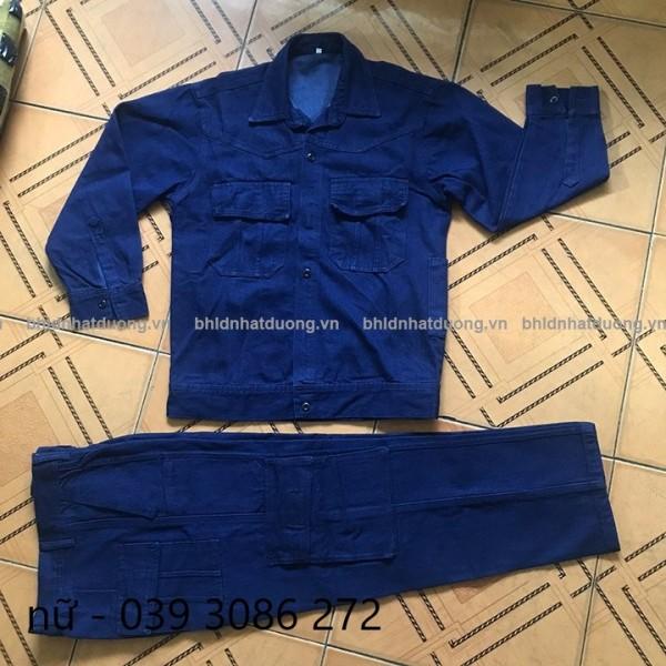 Quần áo jean - quần bò - thợ hàn, thợ điện loại 2-chuyên dùng cho thợ hàn, thợ điện miền nam - hình thật - hàng sẵn