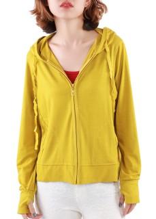 Áo khoác nữ xỏ ngón chất thun lạnh, có túi trong Phúc An 4034 (nhiều màu) thumbnail