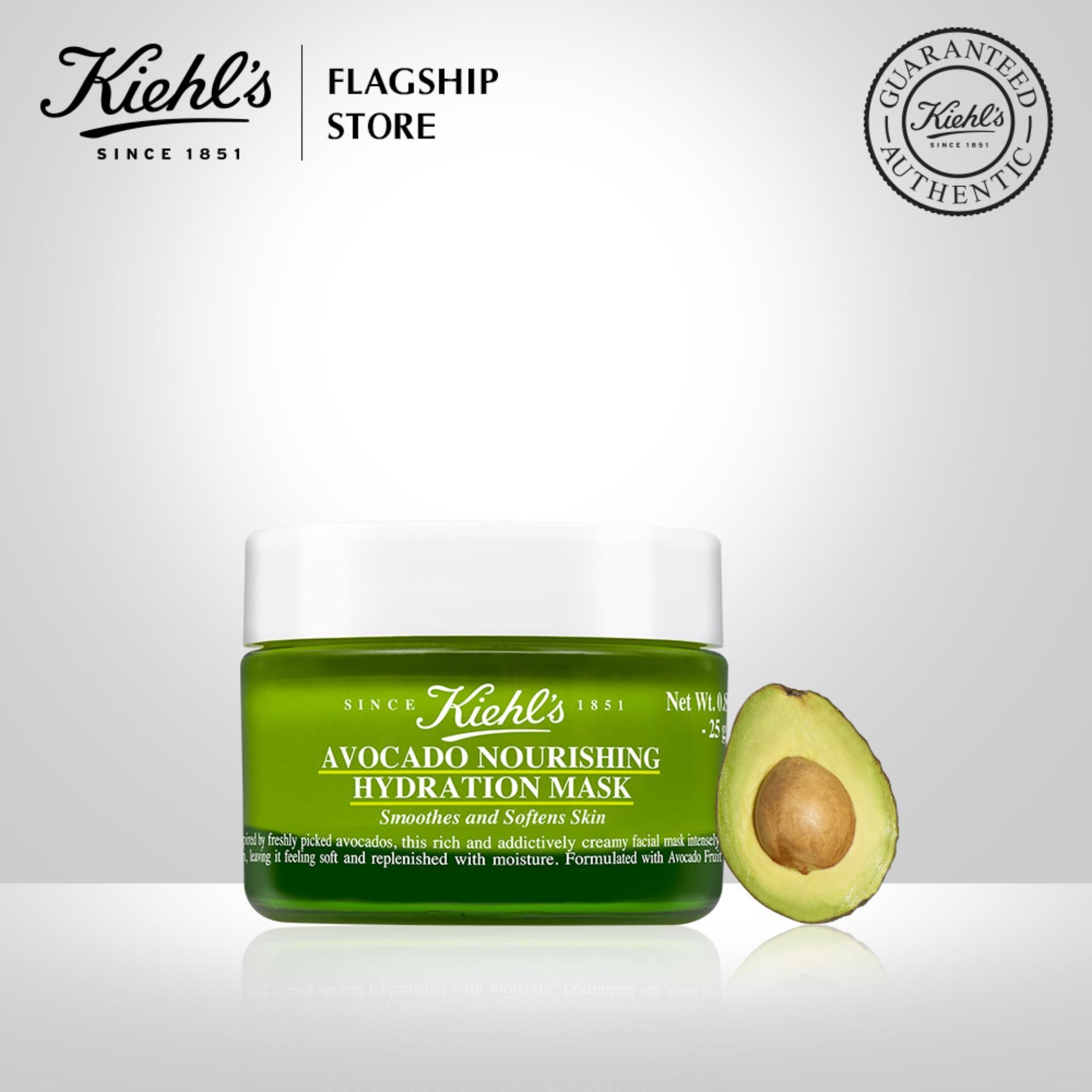Mặt nạ dưỡng ẩm chiết xuất quả bơ Kiehls Avocado Nourishing Hydration Mask 28ML chính hãng