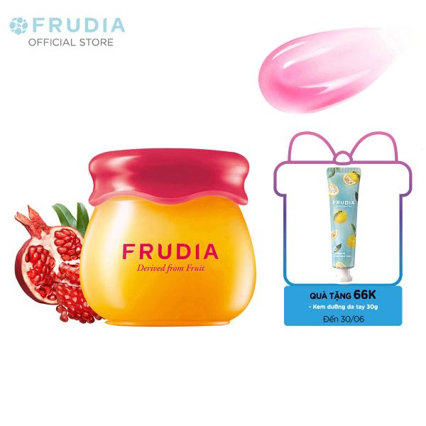 [TẶNG 66K]Son Dưỡng Môi 3 trong 1 Thạch Lựu và Mật Ong Frudia Pomegranate Honey 3 in 1 Lip Balm 10g