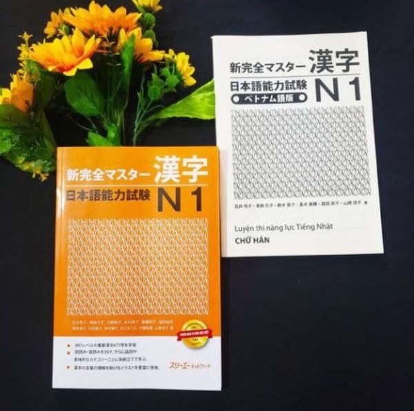 Mua Shin kanzen masuta N1 Hán tự (Giáo trình chính + Bản dịch chi tiết tiếng Việt)