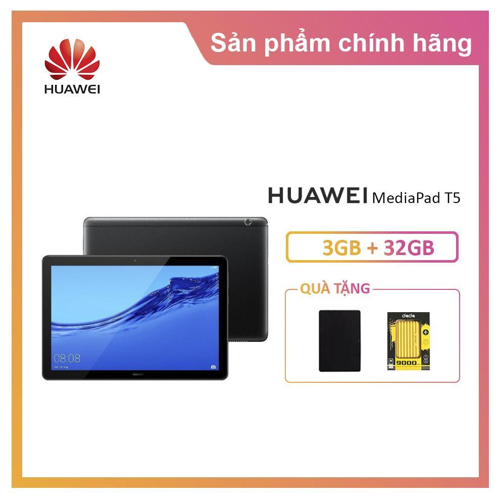 Máy tính bảng Huawei MediaPad T5- Tặng Bao Da- Phiên bản 4G LTE Nhật Bản