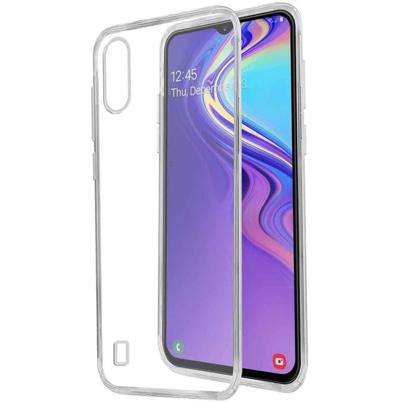 Giá Ốp Silicon cho Samsung Galaxy A10 Trong suốt (Loại A+ chống ố vàng)