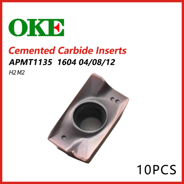 OKE Cemented Carbide Inserts APMT 1135/1604 H2 M2