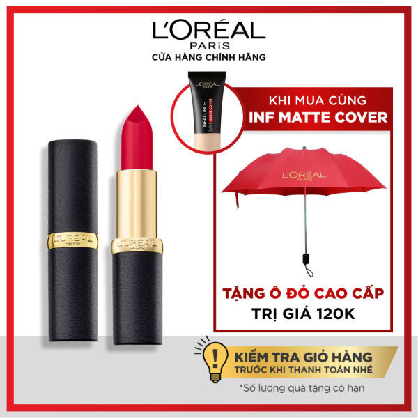 Son lì mịn môi LOreal Paris Color Riche Matte 3.7g