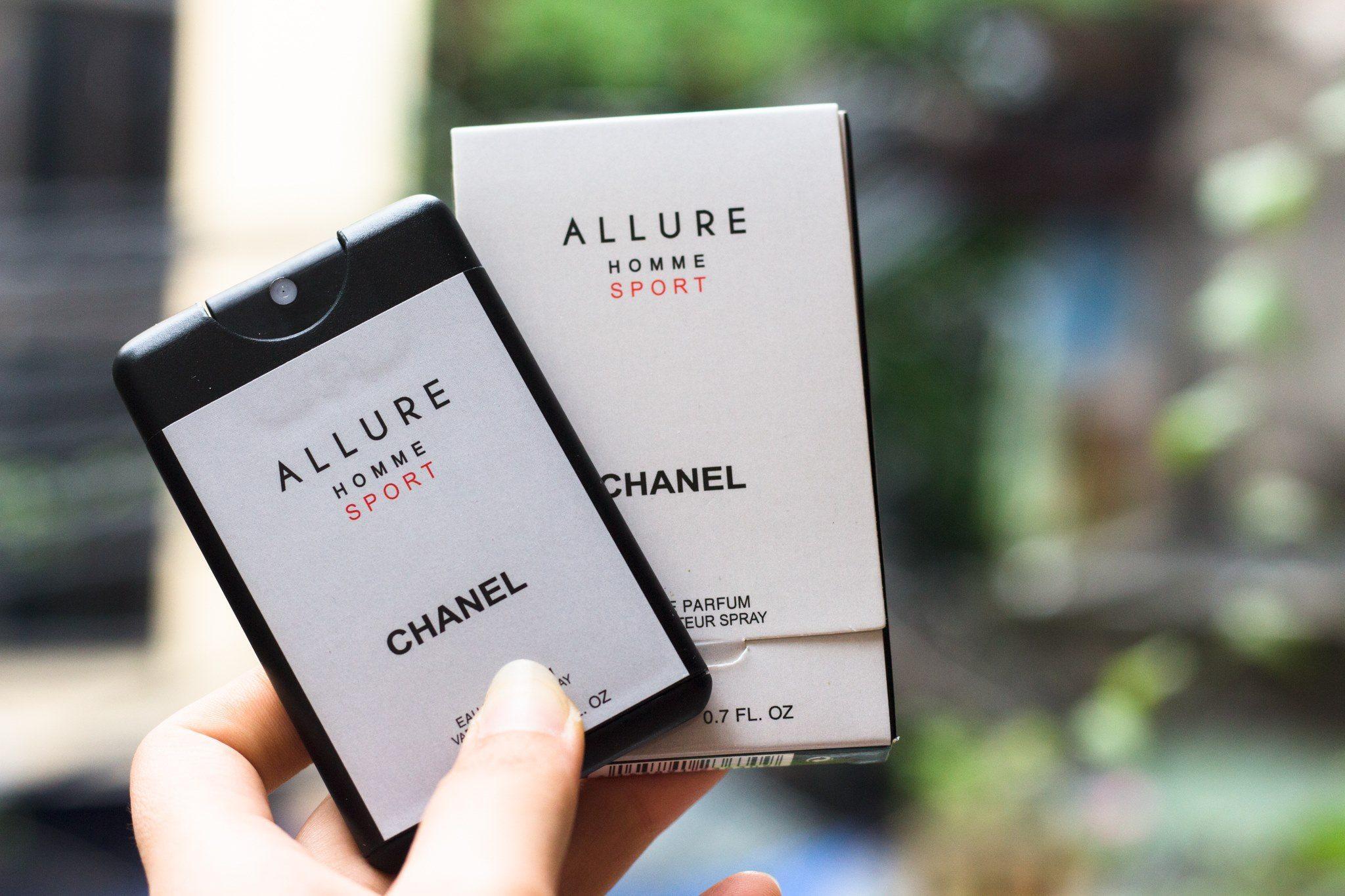 Nước Hoa Pháp Allure Home Sport Chanel 20ml