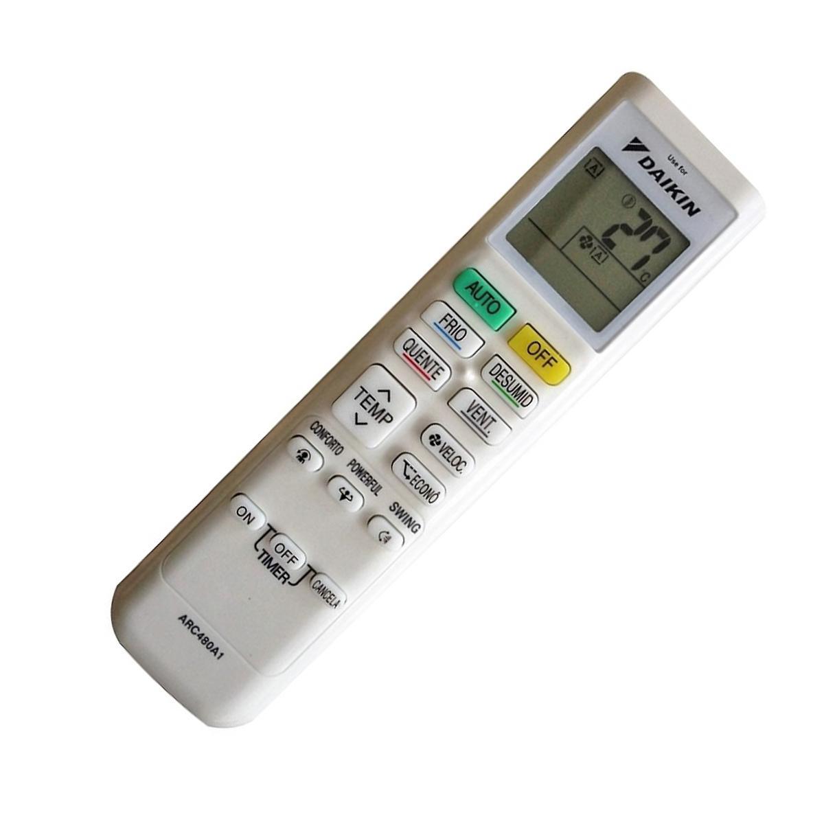 Bảng giá Remote điều khiển Máy Lạnh, Máy Điều Hòa DAIKIN FTKC25QVMV, FTKC35QVMV, FTKC50RVMV, ARC480A1ARC480A1, ARC480A2, ARC480A3, ARC480A20, ARC480A21 Điện máy Pico