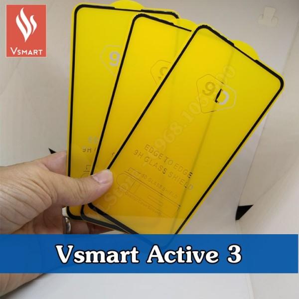 Kính cường lực Vsmart Active 3 (Full Màn, Full keo)