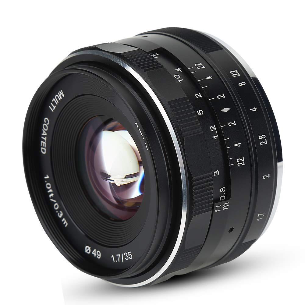 Lens Meike 35F1.7 manual focus for Olympus Panasonic M4/3