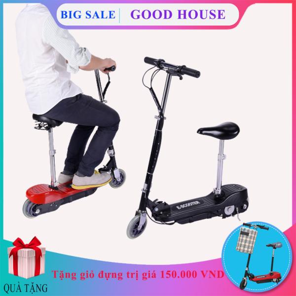 Phân phối Xe điện gấp gọn Mini E-SCOOTER tặng giỏ đựng đồ treo tiện lợi ( Bảo hành 2 năm lỗi 1 đổi 1 trong 7 ngày )