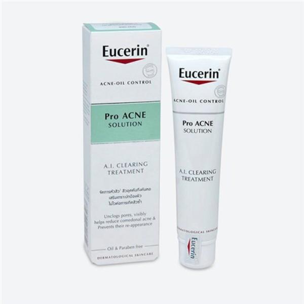 Sản phẩm Giảm mụn viêm Eucerin ProAcne A.I Clearing Treatment 40ml (87925) giá rẻ