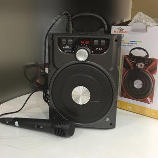 Loa Karaoke Bluetooth Di Động Kiomic P88 P89 Âm Thanh Chuẩn Tặng Kèm Micro thumbnail
