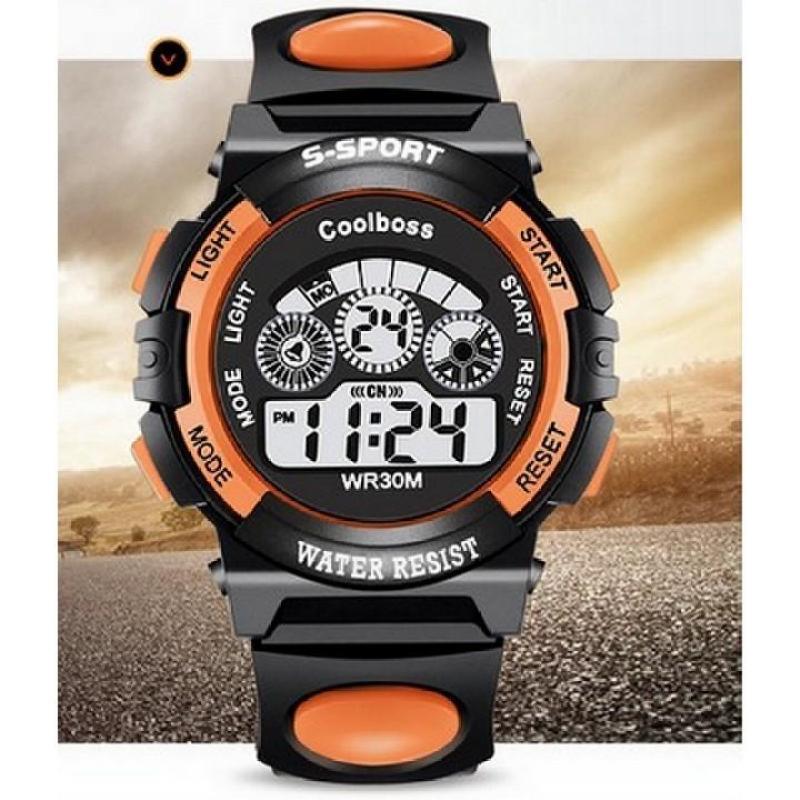 Nơi bán Đồng hồ trẻ em S-sport 001 (Màu cam)