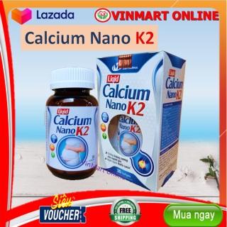 Liquid Calcium Nano K2 - Giúp Bổ Sung Canxi, Vitamin MK7 - Chống Loãng Xương- Hộp 30 viên thumbnail