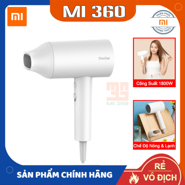 Máy Sấy Tóc Xiaomi ShowSee A1/ A2✅ Chế Độ Sấy Nóng Lạnh, Công Suất 1800W✅ Hàng Chính Hãng cao cấp