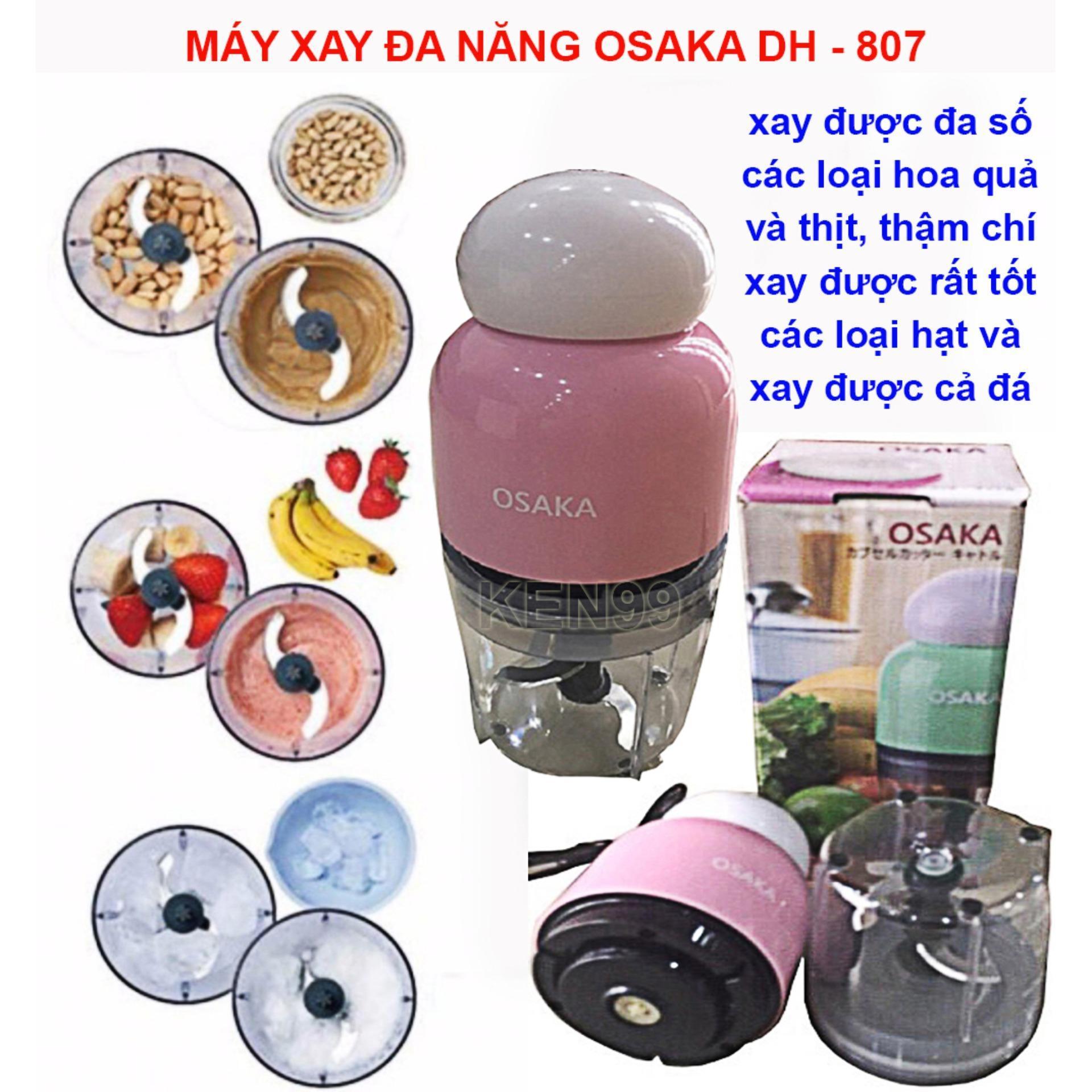 Giá Máy xay mini đa năng hàng xuất nhật OSAKA đầu tròn - Máy xay sinh tố OSAKA mua may xay da nang-Máy xay sinh tố máy xay cầm tay - Tiện dụng - Đa dạng, Máy xay cầm tay đa năng có cối. Xay thịt - Xay đậu - xay thực phẩm - xay hoa quả… Điện máy T