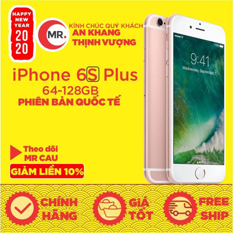 Điện thoại Apple iPhone 6S Plus -32G - 64GB  -128GB Bản quốc tế CPU Apple A9 2nhân  RAM 2GB màn hình LED-backlit IPS LCD, 5.5 , Retina HD NGUYÊN ZIN  - MR CAU