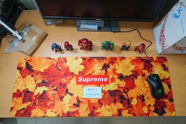 Bảng giá [200+ mẫu lót chuột]  Bàn di chuột, Miếng lót chuột, lót chuột chơi game size lớn (mouse pad) kích thước 80x30 cm Phong Vũ