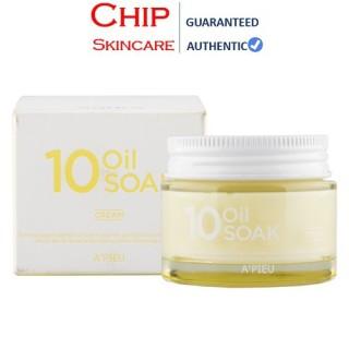 Kem Dưỡng A PIEU 10 Oil Soak Cream Căng Bóng Da, Cấp Ẩm Tối Ưu thumbnail