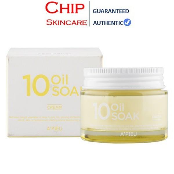 Kem Dưỡng APIEU 10 Oil Soak Cream Căng Bóng Da, Cấp Ẩm Tối Ưu