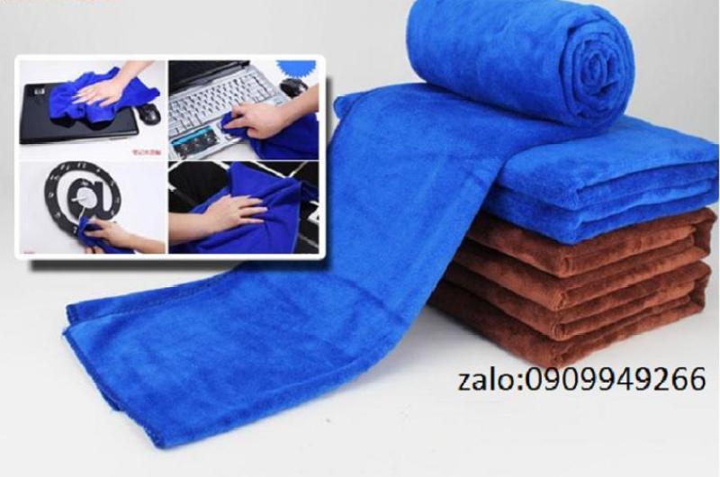 4 khăn lau xe loại dày 35x75cm 110g/1 khăn