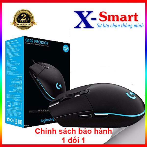 Bảng giá Chuột máy tính Logitech G102 Prodigy Gaming (Đen) Phong Vũ