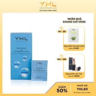 Viên uống chống nắng WHITENING & UV PROTECT PLUS YHL cho các nàng, dưỡng trắng và chống nắng ,90 viên (30 túi nhỏ) Nhật Bản thumbnail