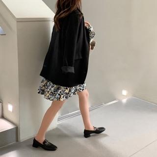 Giày Oxford Da Lì Siêu Mềm Phối Khóa Mini Siêu Xinh thumbnail