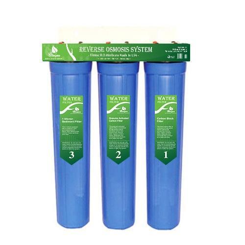 Giá Bộ lọc nước sinh hoạt, bộ lọc thô 3 cấp ly 20inch phukienlocnuoc