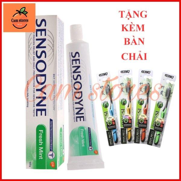 COMBO 2 Kem Đánh Răng Sensodyne Nhập Thái Lan + Tặng kèm 1 bàn chải đánh răng cao cấp
