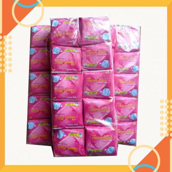 [ Hút Siêu Tốt ]  ComBo 10 Gói Băng Vệ Sinh Thanh Xuân Siêu Thấm Hút Cực Mạnh Chống Tràn nhập khẩu