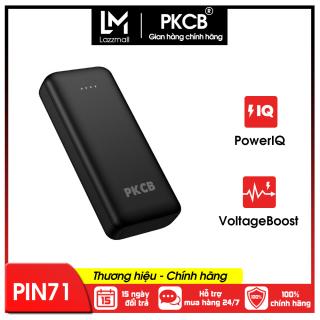 Pin sạc dự phòng PKCB PF1004 dung lượng 12000mAh,2 Cổng USB 2 cổng Input Type-C và Micro nhỏ gọn siêu mỏng thích hợp cho các bạn xài Android thumbnail