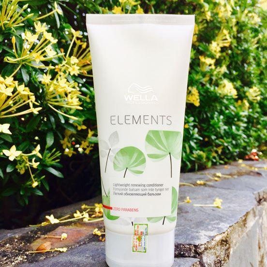 Dầu xả phục hồi và tái tạo tóc WELLA ELEMENTS RENEWING 250ml tốt nhất