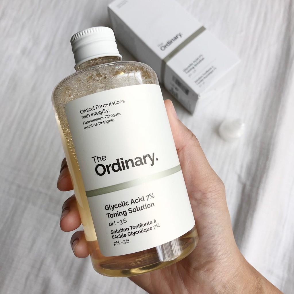 Toner The Ordinary Glycolic Acids 7% cao cấp
