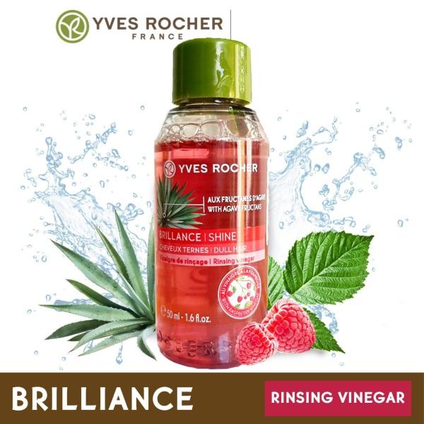 Dầu xả tóc, giấm xả tóc thành phần tự nhiên Yves Rocher RINSING VINEGAR cho mái tóc óng mượt và điều tiết dầu chai 50ml dùng cho mọi loại tóc