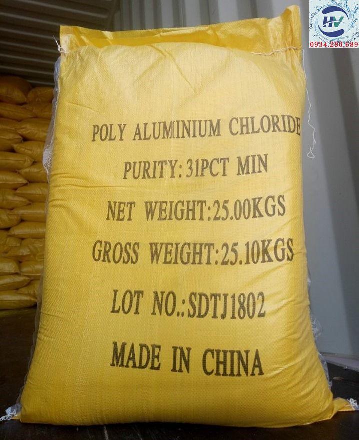Hóa chất trợ lắng nước bể bơi - 5kg Trợ lắng PAC