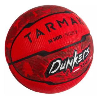 Quả Bóng Rổ Tarmak Dunkers R300 Cỡ 7 Cho Người Mới Tập Chơi Từ 13 Tuổi Trở Lên Tặng Kim Bơm + Túi Lưới - Đỏ. thumbnail