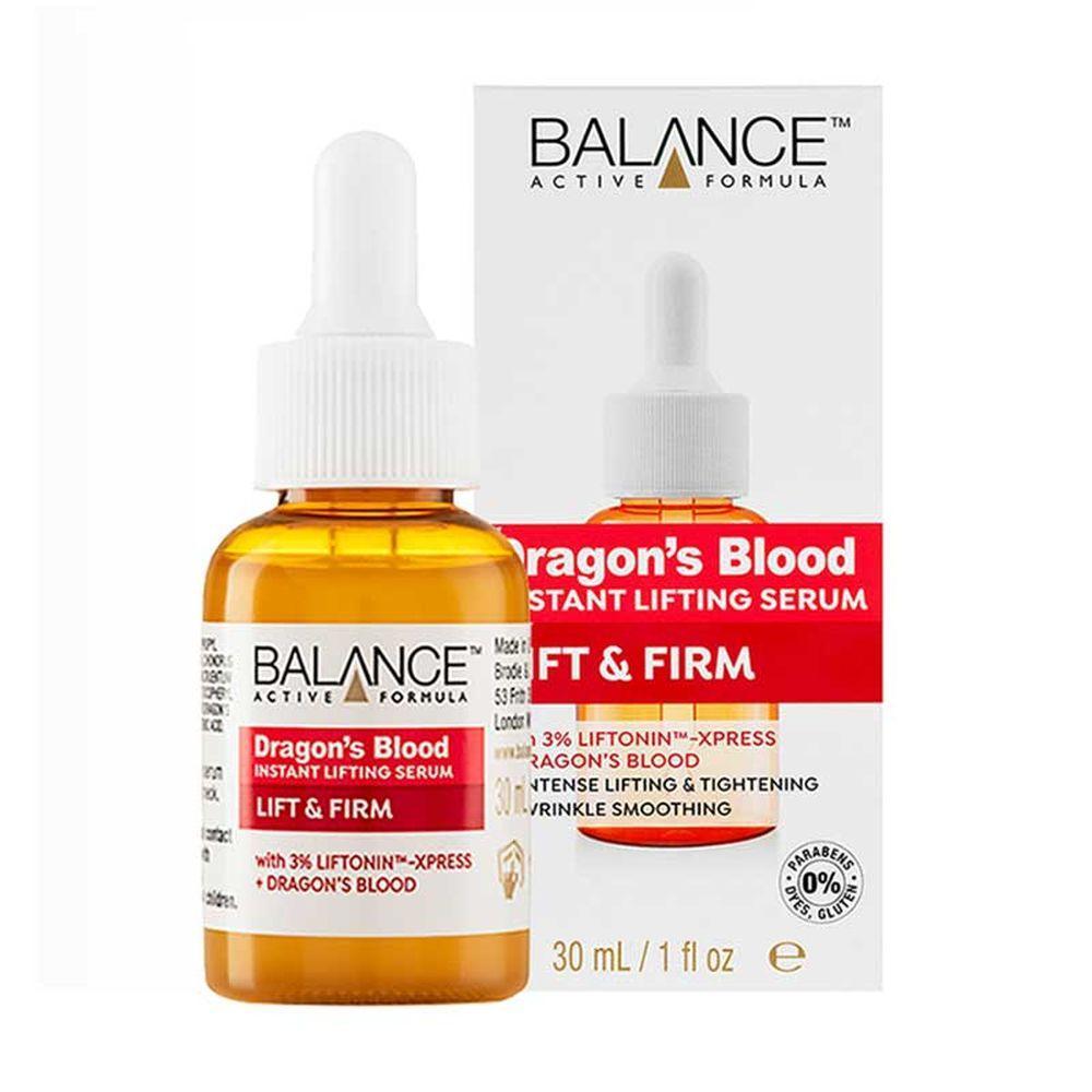 Tinh chất Balance Dragons Blood Instant Lifting Serum 30ml nhập khẩu