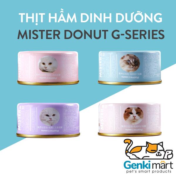 [HCM]Thịt đ&oacuteng hộp cho m&egraveo Mister Donut G-Series cao cấp