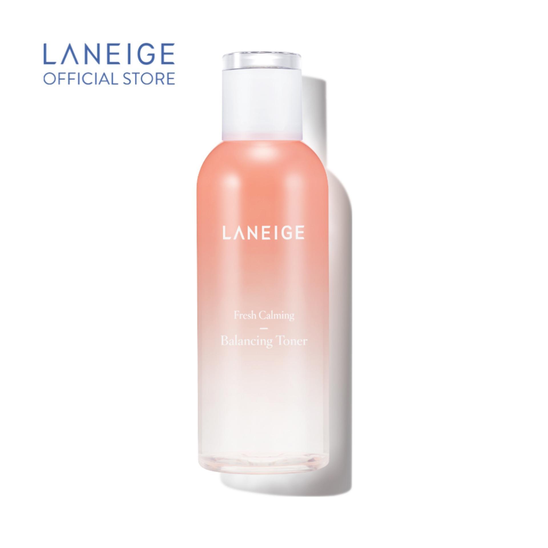 Nước cân bằng dưỡng ẩm dịu nhẹ Laneige Fresh Calming Toner 250ml