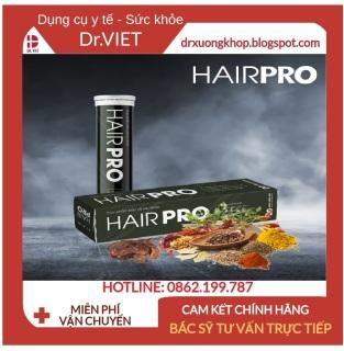 Viên sủi Hair Pro - HỖ TRỢ GIẢM RỤNG TÓC, HÓI ĐẦU, TÓC BẠC SỚM, TÓC MỌC NHANH - NHANH, AN TOÀN, HIỆU QUẢ thumbnail