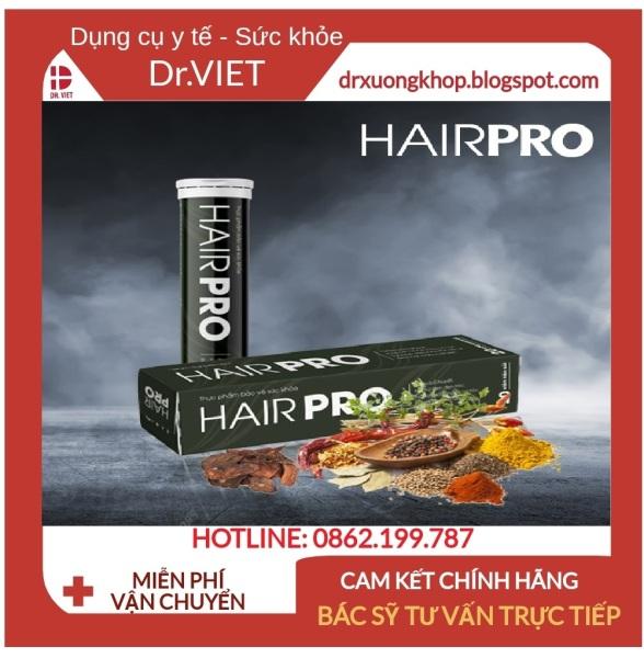 Viên sủi Hair Pro - HỖ TRỢ GIẢM RỤNG TÓC, HÓI ĐẦU, TÓC BẠC SỚM, TÓC MỌC NHANH - NHANH, AN TOÀN, HIỆU QUẢ giá rẻ