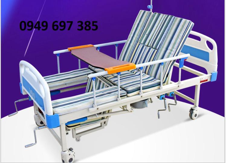 Giường bệnh nhân đa năng - Giường y tế đầy đủ chức năng