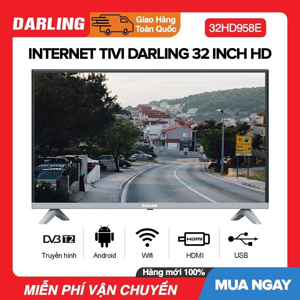 Bảng giá Youtube TV Darling 32 inch Kết nối Youtube Model 32HD958E (HD Ready, Ứng dụng Youtube) - Bảo Hành 2 Năm
