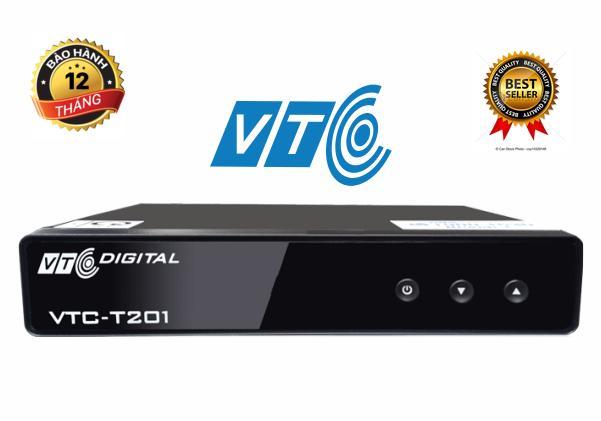 Giá Đầu thu kỹ thuật số DVB T2 VTC T201 + Antena 15m dây Điện máy Tân Đại Phát