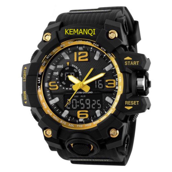 Đồng hồ thể thao nam KMEANQI điện tử đẳng cấp  Siêu chống nước 5atm bán chạy