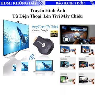 Thiết bị HDMI không dây Anycast M2 Plus Truyền hình ảnh từ điện thoại lên tivi máy chiếu - Dùng được cho hầu hết các dòng điện thoại smartphone - Samsung, Huawei, Xiaomi, Sony, LG, Motorola iPhone, iPad... thumbnail